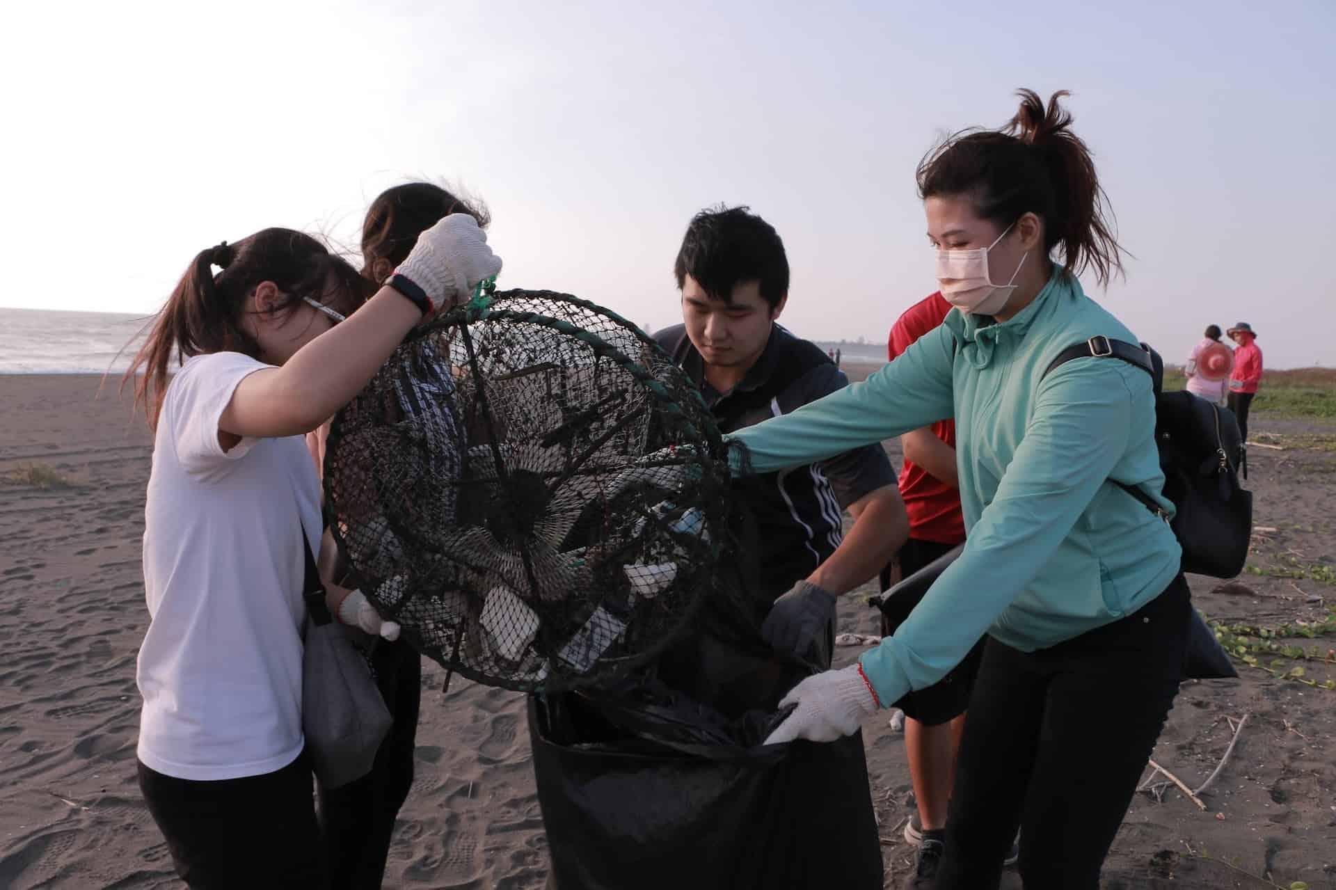 武昌學生牧區淨灘3