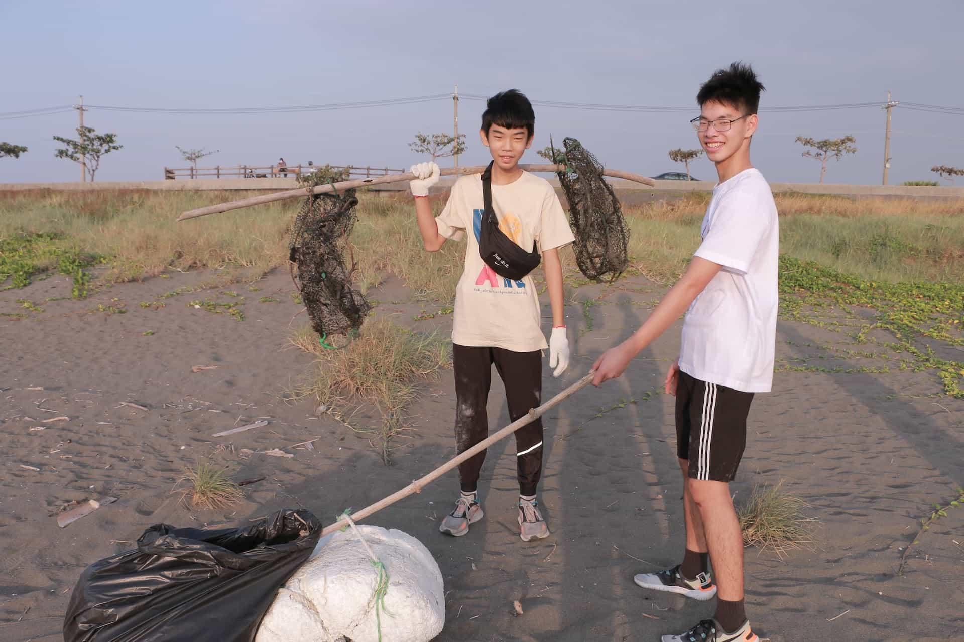 武昌學生牧區淨灘4